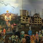 10 - FİKİRTEPENİN SONU 175 X 380 CM TUVAL YAGLIBOYA 2012-13