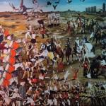 11 - ' FİKİRTEPE MEYDAN MUHAREBESİ ' 170 X 290 CM TUVAL ÜZERİNE ÜZERİNE YAGLIBOYA 2012