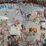 12 - ' istanbulun gazisi gezi ' 131 x 295 cm tuval uzerı yaglıboya 2013
