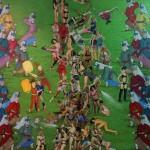 13 - PİLAVA HÜCUM - ATTACK ON RİCE 150 X 196 CM TUVAL ÜZERİNE YAGLIBOYA 2012-13