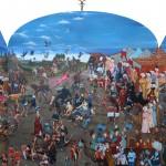 17 - ' işkence şenlikleri ' 263 x 397 cm tuval üzerine yaglıboya 2014