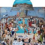 God is Great But No Justice 171.00 x 189.00 cm. 2011 Tual üzerine karışık teknik İmzalı