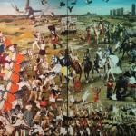 Fikirtepe Meydan Muharebesi 170.00 x 290.00 cm. 2012-2013 Tual üzerine yağlıboya