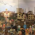 Fikirtepenin Sonu 175.00 x 380.00 cm. 2012-2013 Tual üzerine yağlıboya