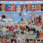Karşılama 120.00 x 150.00 cm. 2012-2013 Tual üzerine yağlıboya İmzalı