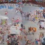 İstanbul'un Gazisi Gezi 131.00 x 295.00 cm. 2013 Tual üzerine yağlıboya