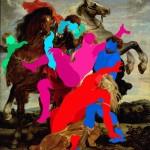 150.00 x 140.00 cm. 2014 Tual üzerine yaglı boya