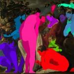 120.00 x 155.00 cm. 2014 Tual üzerine yaglı boya