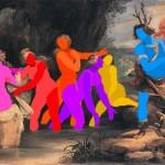 100.00 x 140.00 cm. 2014 Tual üzerine yaglı boya