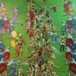 Pilava Hücum 150.00 x 196.00 cm. 2012-2013 Tual üzerine yağlıboya