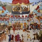 Sırca Saray 130.00 x 150.00 cm. 2012-2013 Tual üzerine yağlıboya